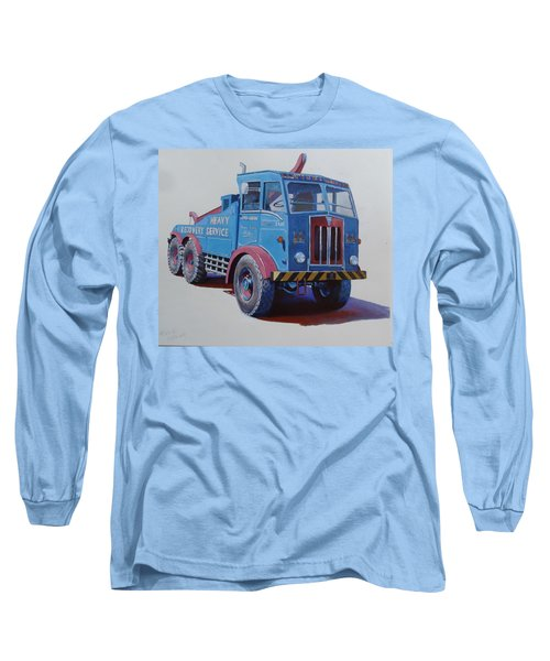 Long Sleeve T-Shirt featuring the painting Aec Militant Lloyds by Mike Jeffries