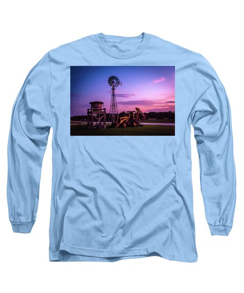 Aeromotor Windmill Long Sleeve T-Shirt