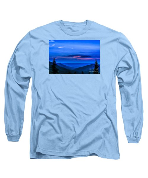 After Sunset Long Sleeve T-Shirt by Thomas R Fletcher