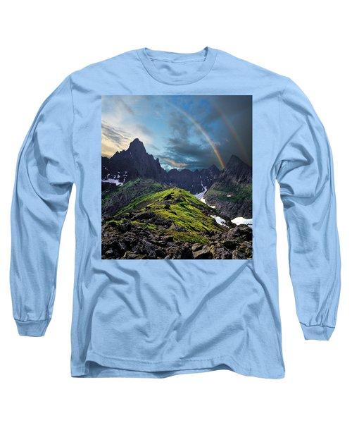 After The Rain Storm Long Sleeve T-Shirt by Vladimir Kholostykh