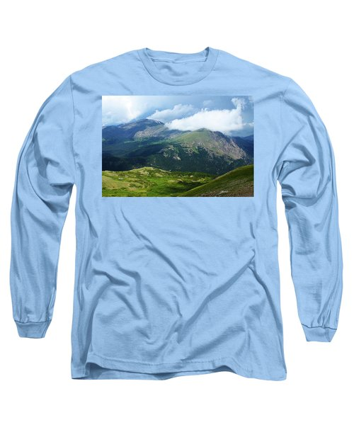 Long Sleeve T-Shirt featuring the photograph After The Storm by Marie Leslie