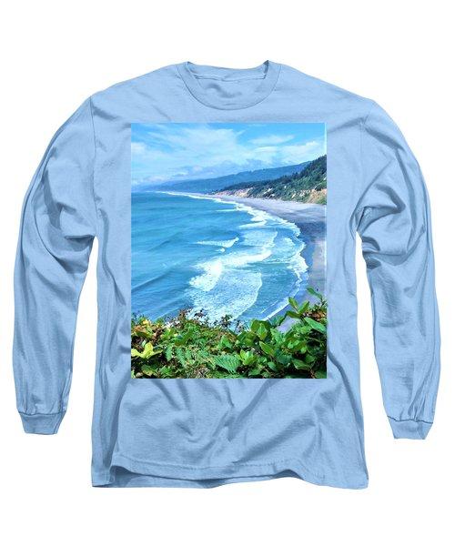 Agate Beach Long Sleeve T-Shirt