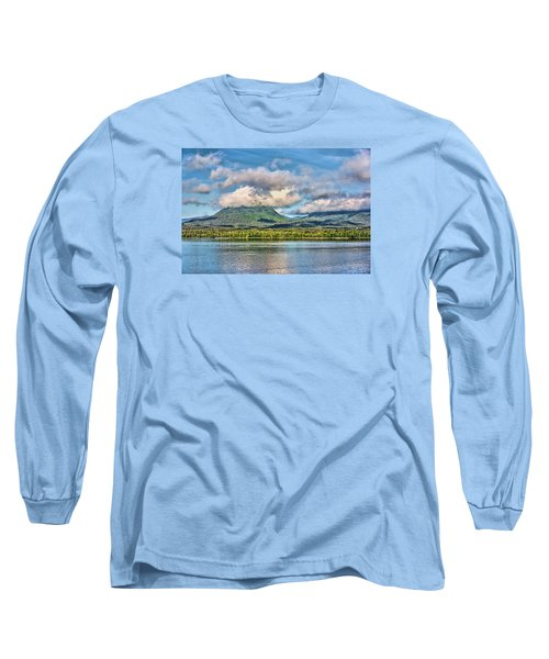 Alaska Morning Long Sleeve T-Shirt by Lewis Mann