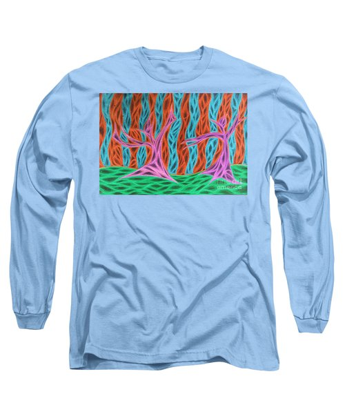 Alien Moon Dance Long Sleeve T-Shirt by Jamie Lynn