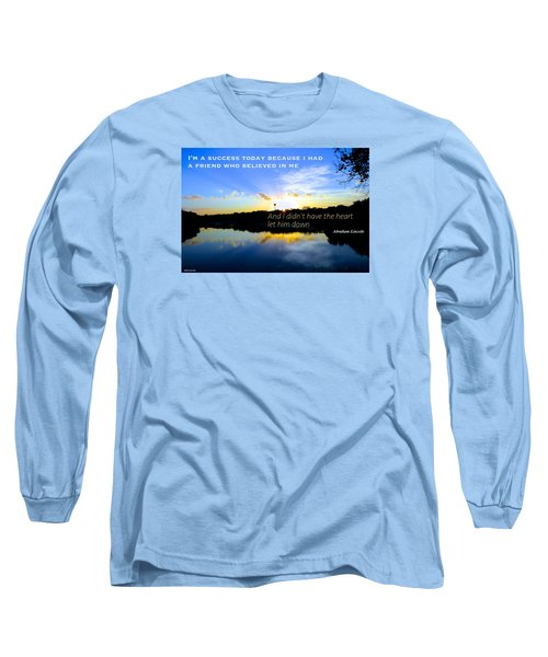 Long Sleeve T-Shirt featuring the photograph Allies by David Norman