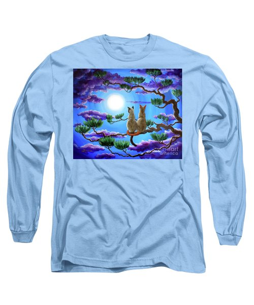 Alone In The Treetops Long Sleeve T-Shirt