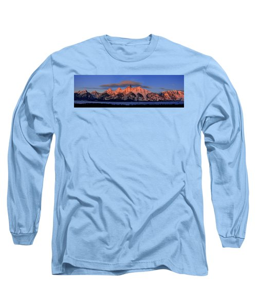 Alpenglow Tetons 2 Long Sleeve T-Shirt