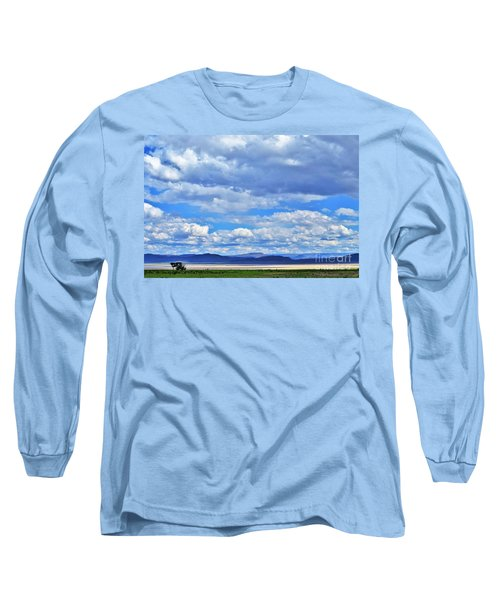 Sky Over Alvord Playa Long Sleeve T-Shirt by Michele Penner