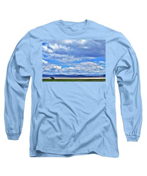 Sky Over Alvord Playa Long Sleeve T-Shirt