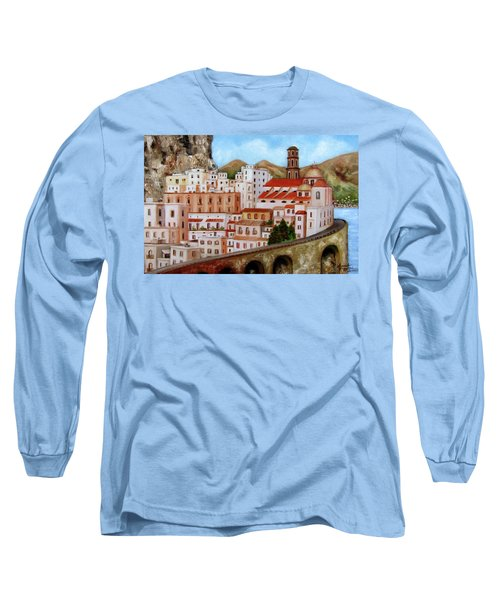 Amalfi Coast Long Sleeve T-Shirt