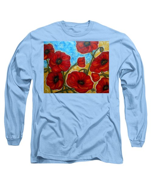 Amapolas Long Sleeve T-Shirt