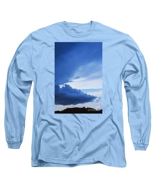 Amazing Blue Sky Vertical Long Sleeve T-Shirt