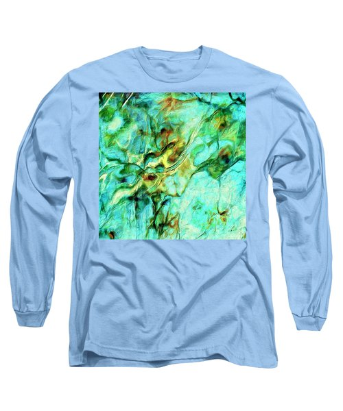 Long Sleeve T-Shirt featuring the painting Amazon by Dominic Piperata