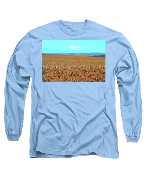Amber Waves Of Grain Long Sleeve T-Shirt