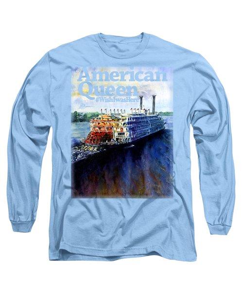 American Queen Shirt Long Sleeve T-Shirt