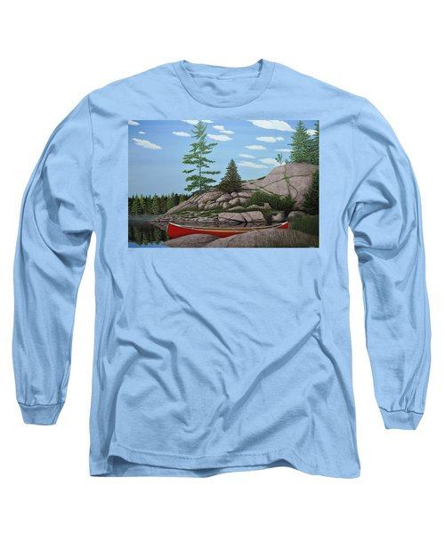 Among The Rocks II Long Sleeve T-Shirt