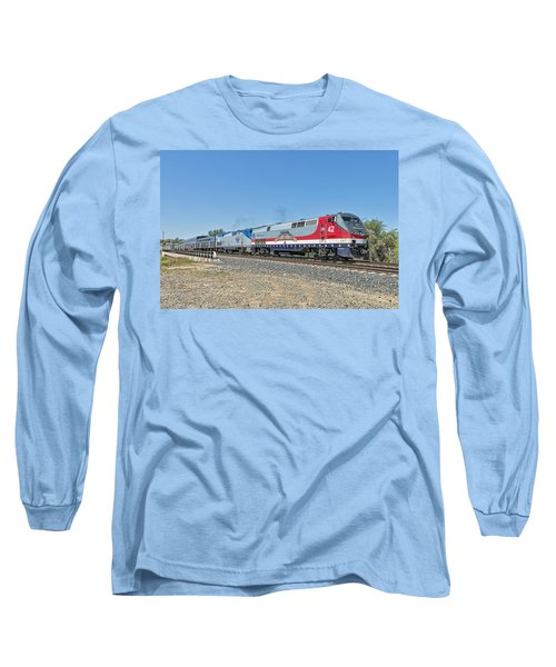 Amtrak 42  Veteran's Special Long Sleeve T-Shirt by Jim Thompson