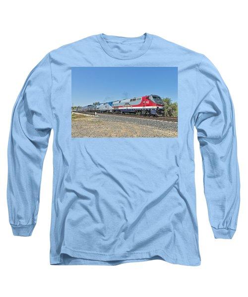 Amtrak 42  Veteran's Special Long Sleeve T-Shirt