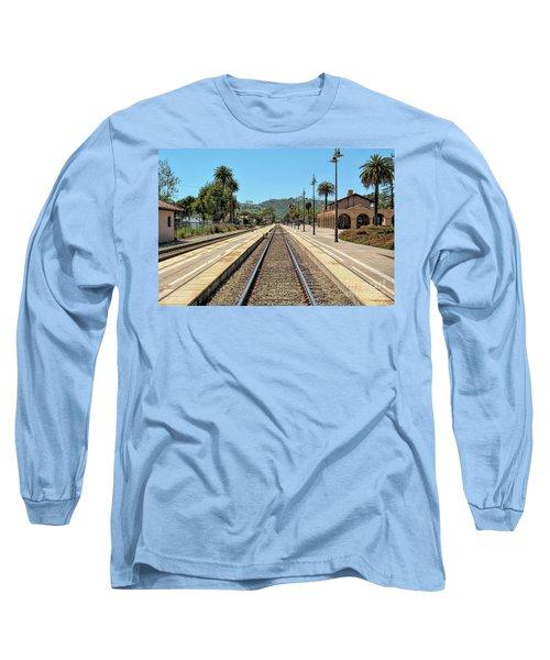 Amtrak Station, Santa Barbara, California Long Sleeve T-Shirt