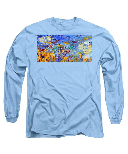An Abstract Vision Under The Sea Long Sleeve T-Shirt