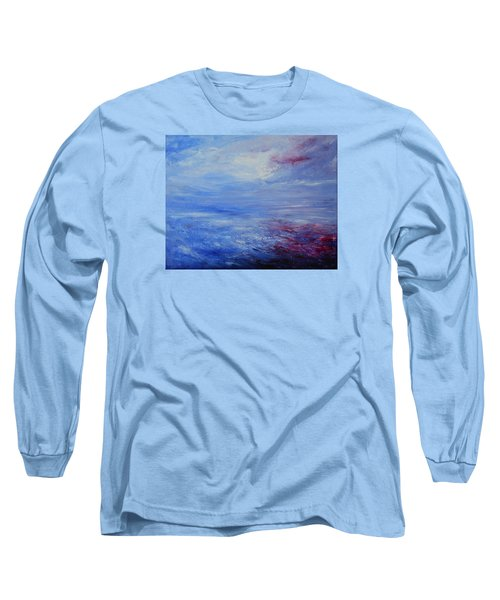 An Unspoken Message Long Sleeve T-Shirt by Jane See