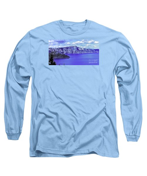 Long Sleeve T-Shirt featuring the photograph Ancient Waters by Nancy Marie Ricketts