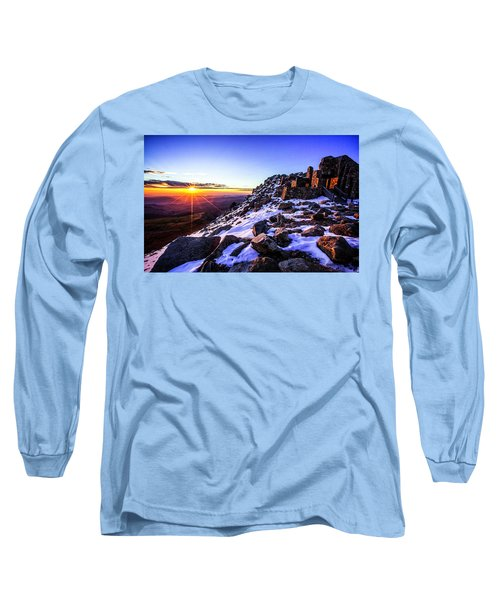 And Then There Was Light Long Sleeve T-Shirt by Kristal Kraft