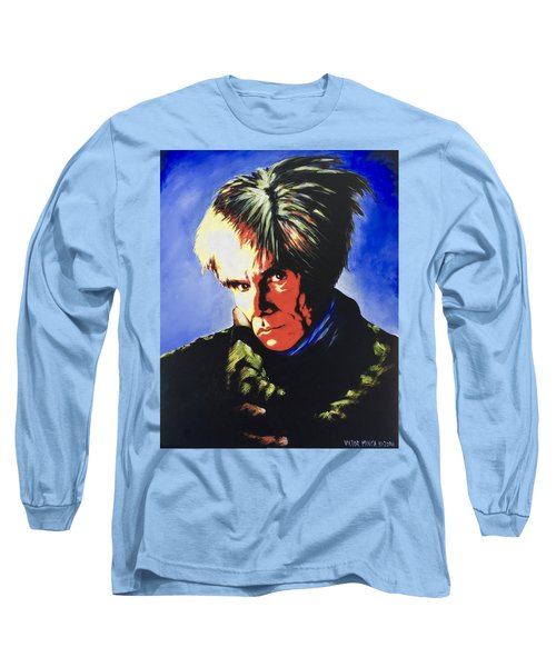 Andy Warhol Long Sleeve T-Shirt by Victor Minca