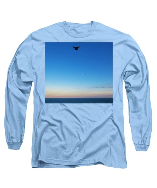 Angel Bird Long Sleeve T-Shirt by Kathy Long