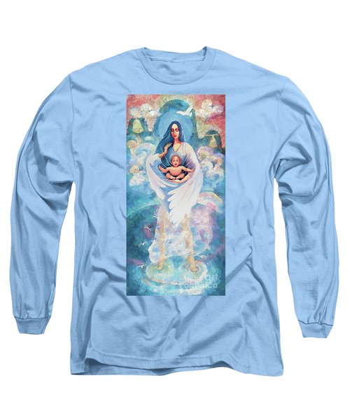 Angel Blessing Long Sleeve T-Shirt