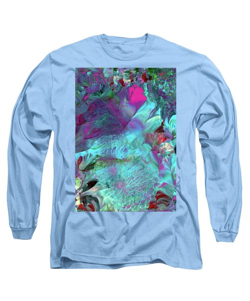 Angel Daphne Flowers #2 Long Sleeve T-Shirt