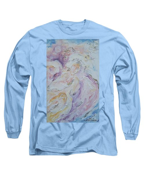 Angel Of Messages Long Sleeve T-Shirt