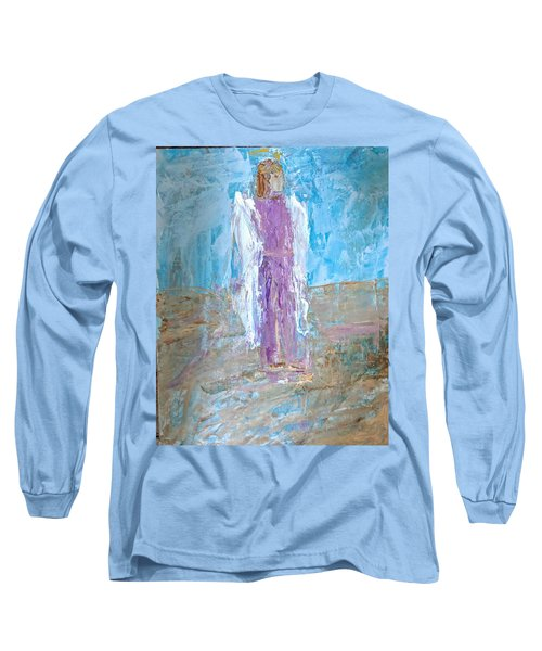 Angel With Confidence Long Sleeve T-Shirt