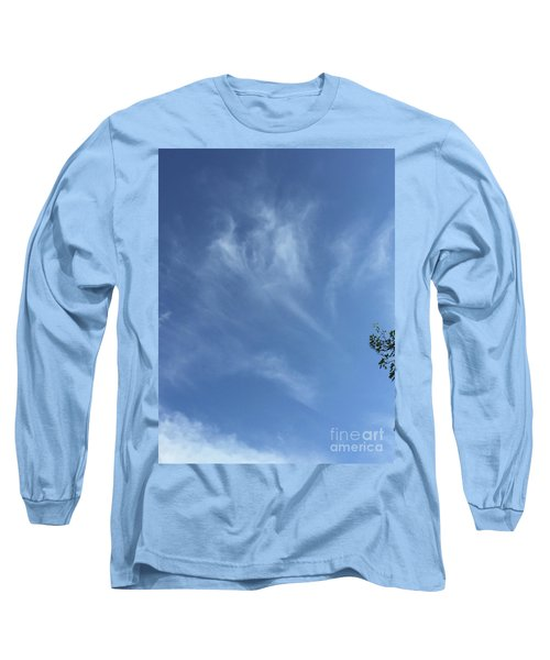 Angels Appear Over The Old Farm Long Sleeve T-Shirt
