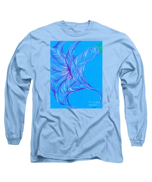 Long Sleeve T-Shirt featuring the photograph Angel's Trumpet by Kim Sy Ok