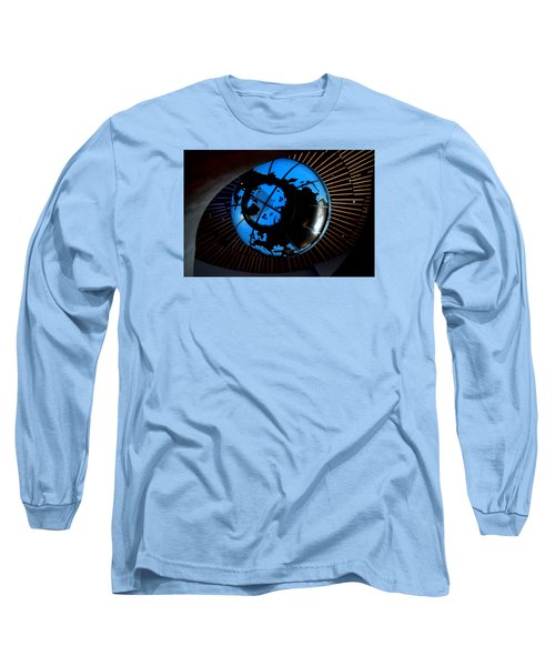 Antarctica Long Sleeve T-Shirt by David Gilbert
