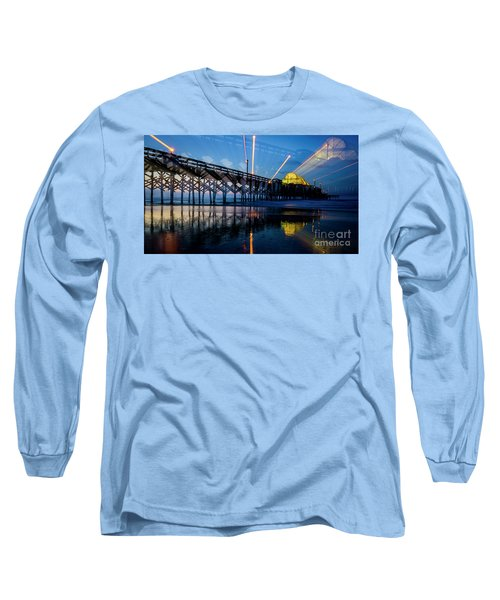 Apache Pier Long Sleeve T-Shirt by David Smith