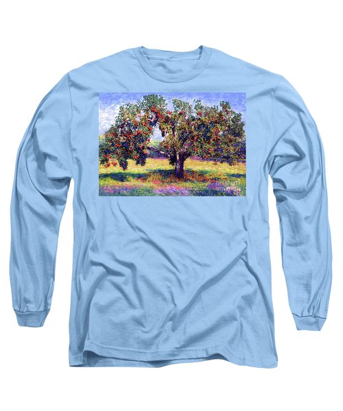 Apple Tree Orchard Long Sleeve T-Shirt