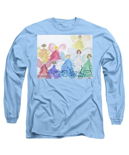 Archangels    Malchei Roshei Long Sleeve T-Shirt