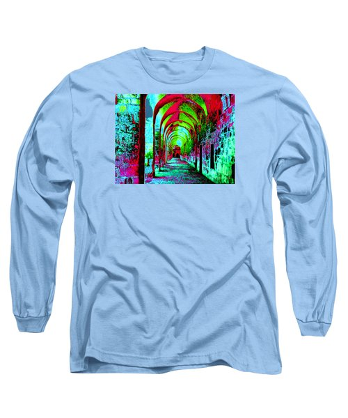 Arches Surreal - Florence Italy Long Sleeve T-Shirt by Merton Allen