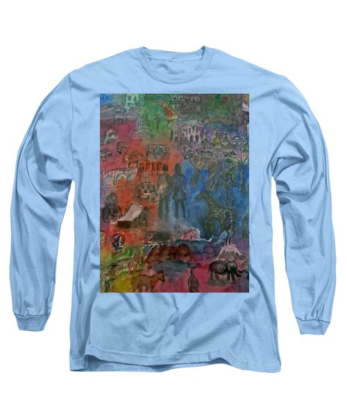 Around The World Long Sleeve T-Shirt