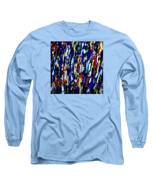 Art Abstract Painting Modern Color Long Sleeve T-Shirt