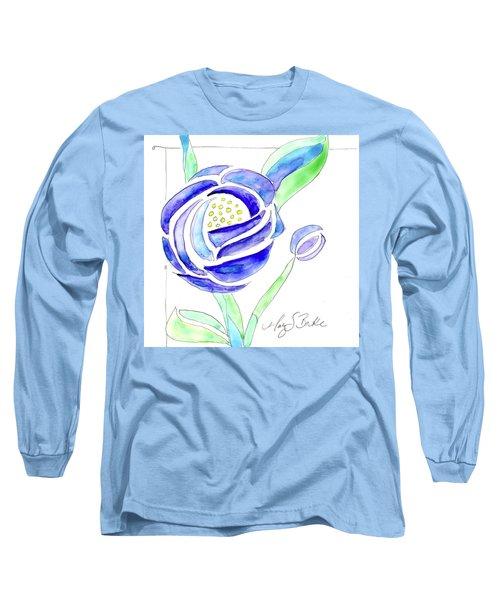 Art Nouveau Roses II Long Sleeve T-Shirt