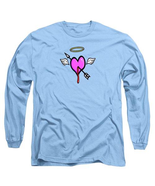 Cupids Heart Long Sleeve T-Shirt