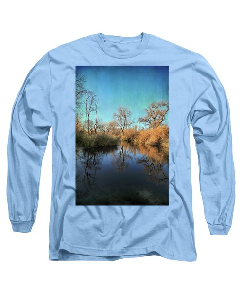 Long Sleeve T-Shirt featuring the photograph As We Taked About The Year by Laurie Search