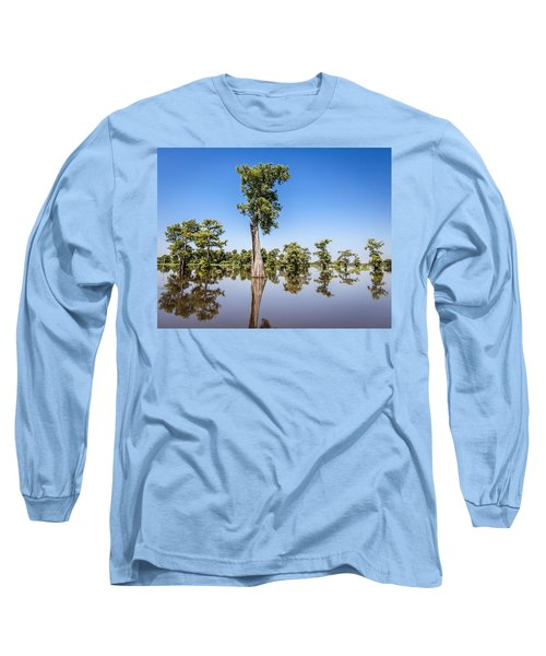 Atchafalaya Cypress Tree Long Sleeve T-Shirt