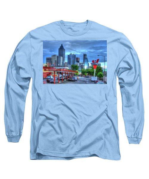 Atlanta Landmark The Varsity Art Long Sleeve T-Shirt