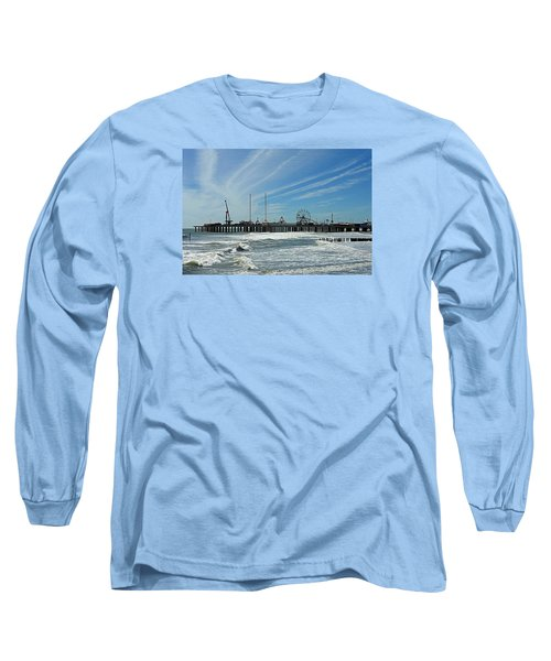 Atlantic City, New Jersey Long Sleeve T-Shirt by Allen Beilschmidt