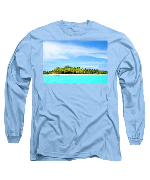 Atoll Long Sleeve T-Shirt by Sharon Jones