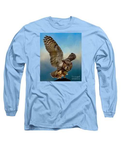 Long Sleeve T-Shirt featuring the photograph Attitude Is Everything by Myrna Bradshaw